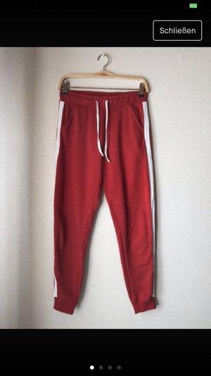 Tally Weijl Leggings bianco-rosso