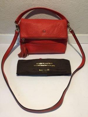 Rote Kate Spade Leder-Handtasche