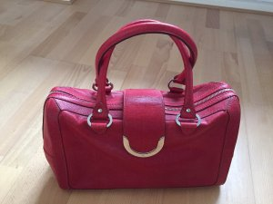Rote klassische Aigner-Tasche