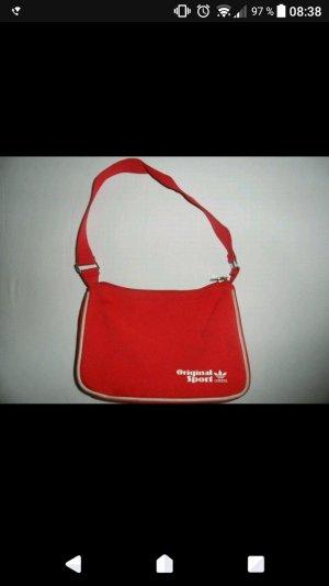 Rote kleine Adidas Handtasche