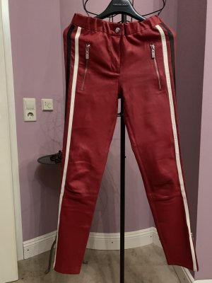 Arma Collection Leather Trousers red