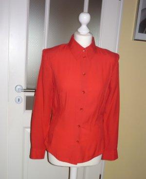 rote Langarm - Bluse........