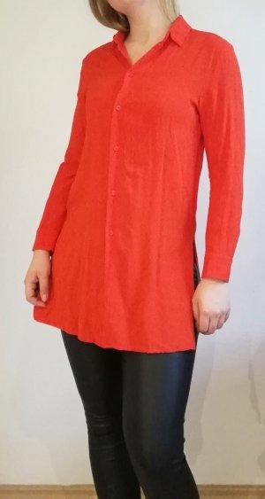 rote lange H&M Bluse