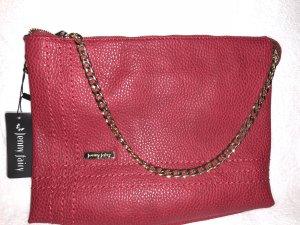 Rote Leder Tasche
