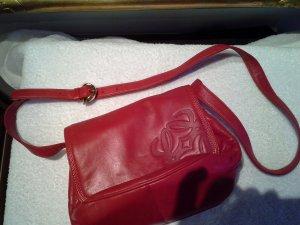 rote Leder Umhängetasche von Loewe