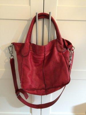 Rote Lederhandtasche von Liebeskind