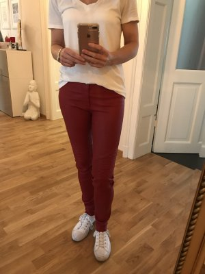 Leather Trousers red leather