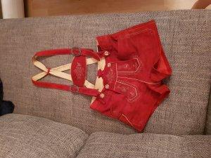 Rote Lederhosn