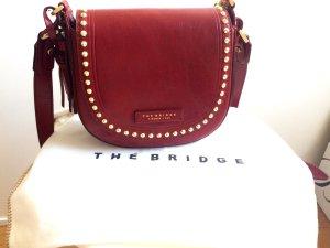 Rote Ledertasche von The Bridge / Handtasche / Cross Body / NEU