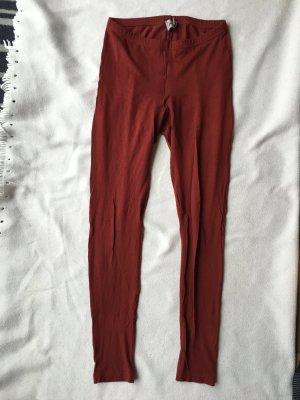 Rote Leggings von Asos in Größe 38