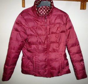 Peckott Down Jacket dark red-white
