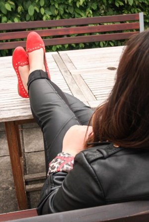 Rote Loafers Zara