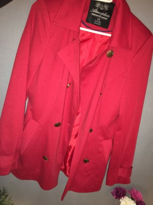 & other stories Blazer long rouge fluo-rouge