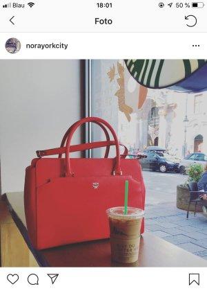 Rote MCM Handtasche