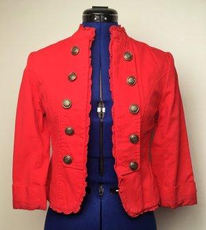 Rote Military Jacke Gr. 36
