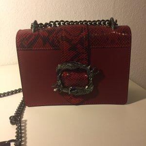 Mini Bag dark red-anthracite