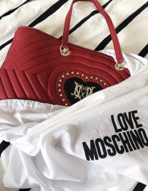 rote Moschino Tasche