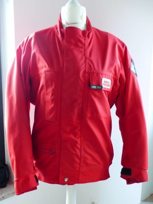 Rote Motorradjacke Gore-TeX Jumbo International