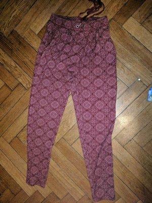 rote muster jogginghose M/L