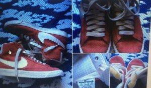 Rote Nike Blazer