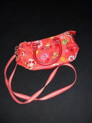 rote Oilily Handtasche mit Blumen