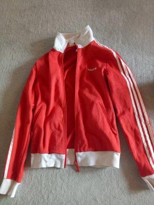 Rote Original Adidas Jacke