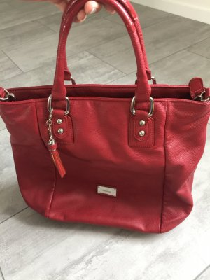 Marc Picard Carry Bag brick red-dark red