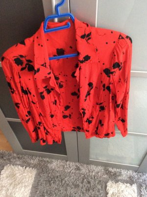 Crash Blouse red-black