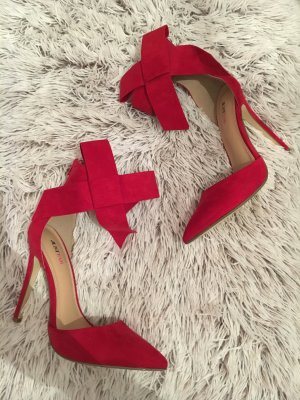 Rote pumps/ Absatz