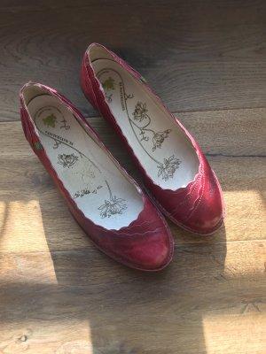 El Naturalista Escarpins Mary Jane rouge foncé-rouge brique