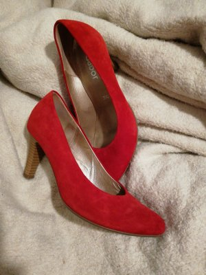 rote pumps gabor