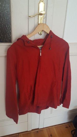 More & More Impermeabile rosso