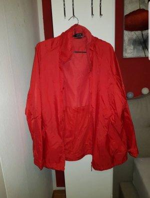 Regenjas rood-baksteenrood