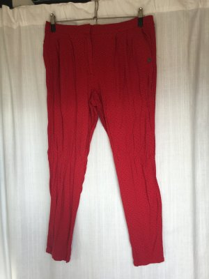 rote retro hose stoff