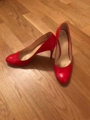 Rote Roberto Festa High Heels Größe 40