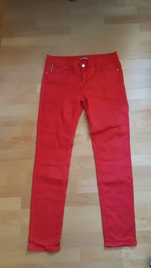 Orsay Tube jeans rood