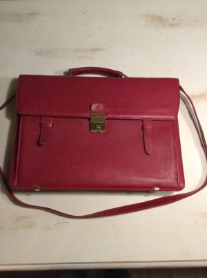 Samsonite Business Bag dark red leather