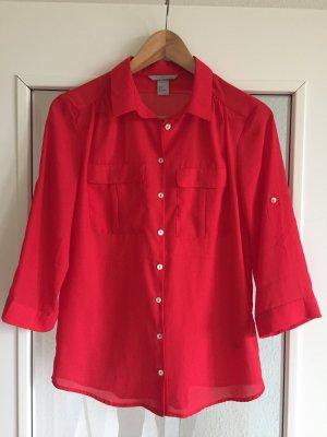 Rote schöne und neue Bluse von h&m