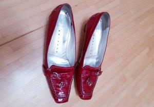 rote Schuhe aus Lack von Högl