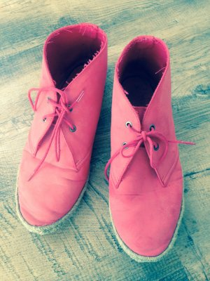 Chaussures basses rouge clair-rouge
