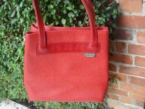 Rote Schultertasche Marke Equipage
