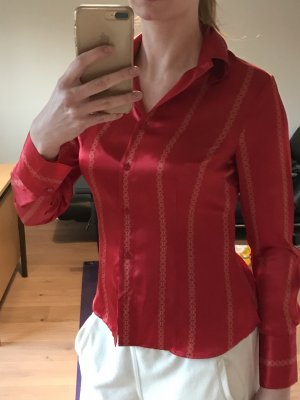 Apart Silk Blouse red-gold-colored