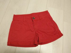 United Colors of Benetton Short rouge-rouge fluo coton