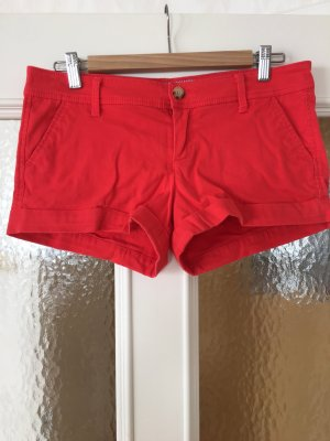 Rote Shorts von Abercrombie & Fitch