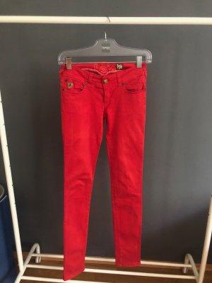 Rote Skinny Hose von Lois