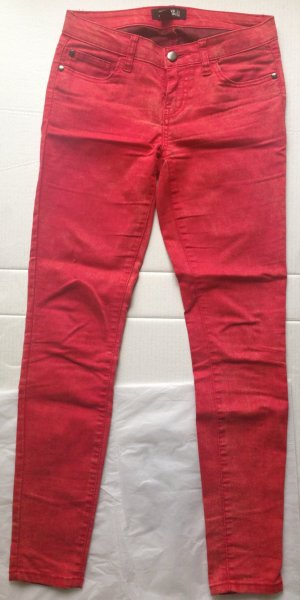 rote Skinny-Jeans Gr. 34 von Forever 21 Premium