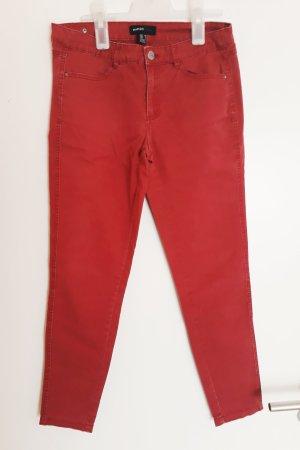 Rote Skinny Jeans von Mango