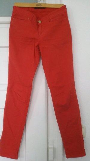 rote Skinny Jeans Zara