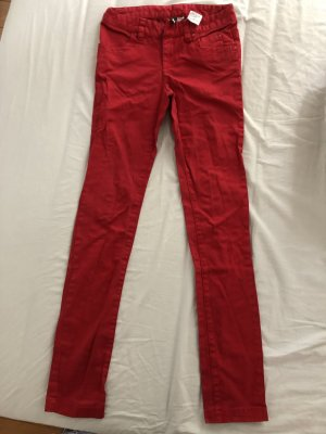 H&M Lage taille broek rood