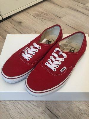 Rote Sneaker von Vans